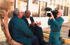 Vera Mae and John Perkins filmed by Jim L. Bowman for the documentary, Journey Toward Forgiveness