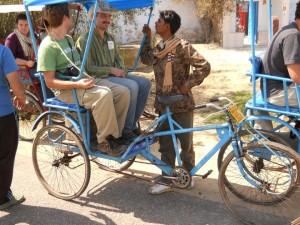 Evan in India
