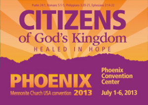 """The theme of the Assembly was """"Citizens of God's Kingdom:  Healed in Hope"""""""
