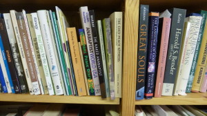 My shelves.