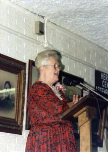 MaryChristnerBorntrager_Speaking