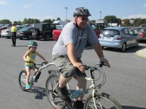 Kent Dayton with his granddaughter Delaney Dayton