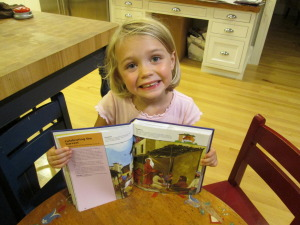 Aleesia Alderfer with Shine On Children's Bible Storybook