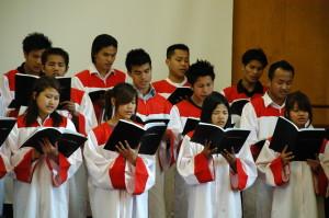 Chin Christian Church Choir, 2009. MCEC photo