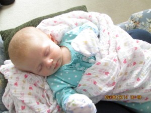 Michelle Mack at 3 months (date on photo is incorrect)