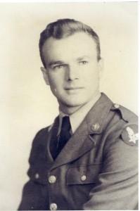 George E. Carpenter US Army Air Corp. circa 1943