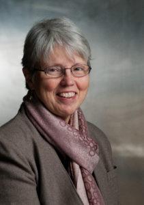 Rose Stutzman, writer for MennoMedia. Stutzman works from the Elkhart office.